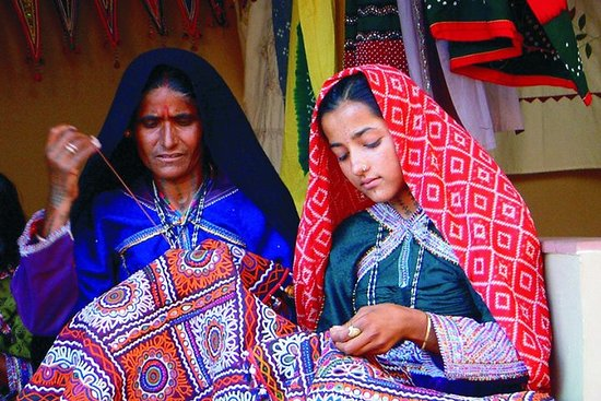 Bhuj, Rann of Kutch & Mandvi Beach - The Art, Craft & Nature Tour of...
