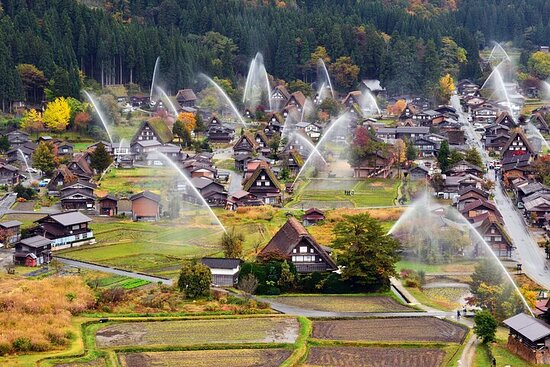 Private Full-Day Tour of Historical Shirakawago and Gokayama