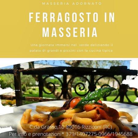 Rizziconi, Italië: FERRAGOSTO in Masseria