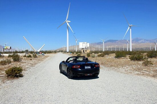 Palm Springs Windmill Self-Driving...