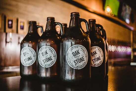 Take a growler TO GO ... great way to enjoy your favorite brew after your visit. $20 refills or $25 for our own growler, filled. Enjoy.