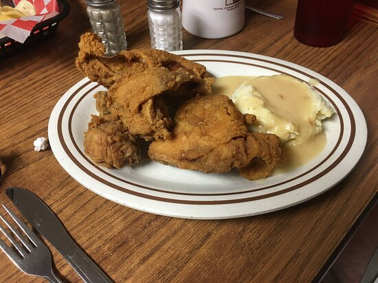 New Carlisle, OH: My husband could say why they are famous for this Broasted Chicken