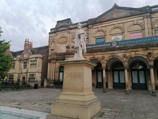 William Etty Statue