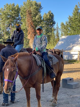 This is the horseback riding to book!