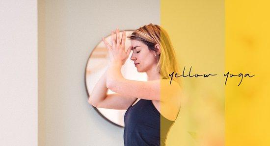 Groningen Province, Belanda: yellow yoga studio
