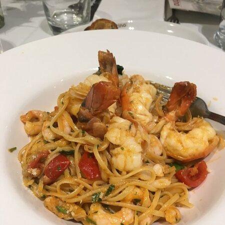 Linguine con Frutti di Mare - linguine with mixed fresh seafood