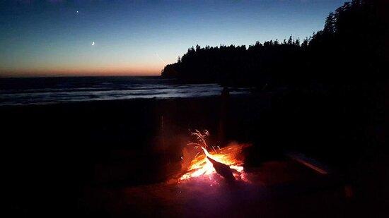 Nootka Island, Canada: Camping