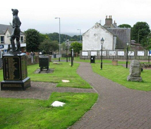 Muirkirk Heritage Miners Memorial Park