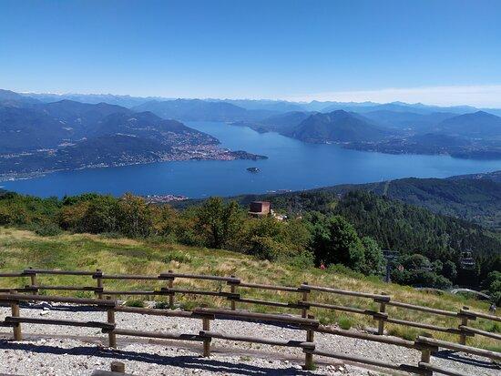 Mottarone, Italia: Vista
