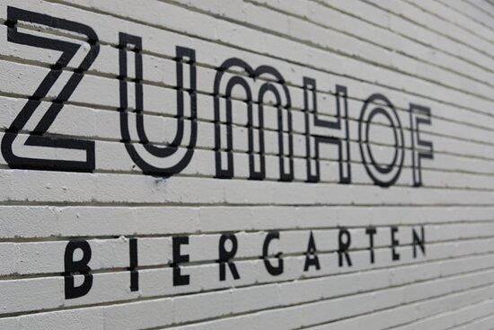 Welcome to Zumhof Biergarten