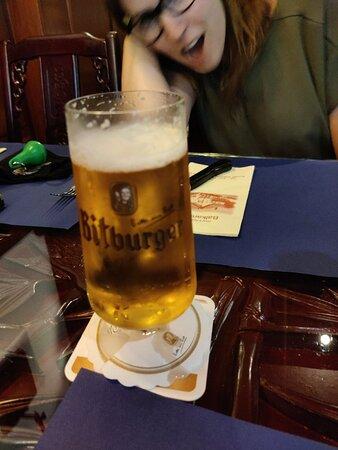 Goed en lekker eten. Niet duur. 13,50 euro voor een Jägerschnitzel.