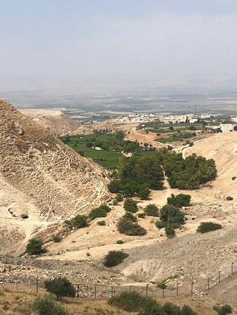 Tabaqat Fahl, Jordan: View to Al Aghwar