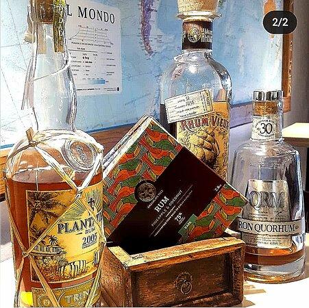 rum and chocolate