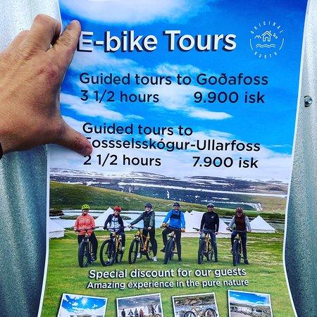 E-bike trips with Original North is fantastic.