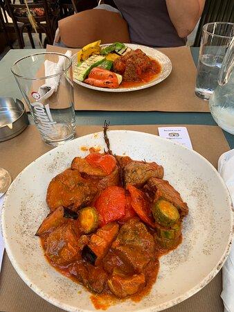 Perfecto para comer en el centro de Atenas