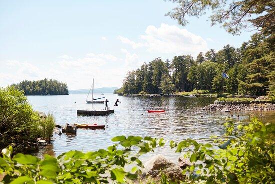 Migis Lodge on Sebago Lake