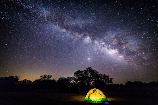 Albany, TX: Camping under the big, bright Texas stars should be on every travel bucket list. With over 80 state parks, you'll find plenty of wide-open spaces for your next camping trip. https://bit.ly/30PedFn  📷 by: @telanggaurang