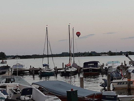 Uitzicht op haventjes