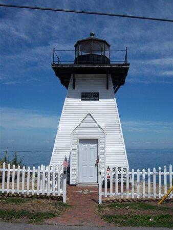 lighthouse next door Olcott