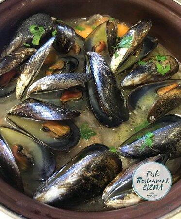 Soroni, กรีซ: - Mussels -