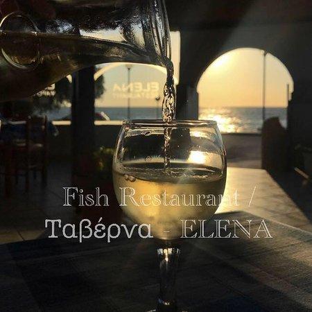Soroni, กรีซ: - Fish Restaurant Elena - since 1992 -