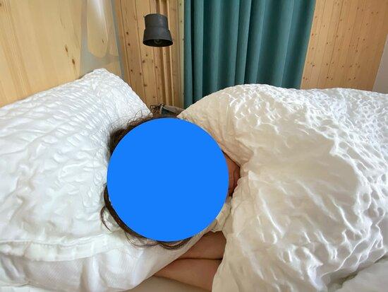 Grand Saint Bernard, Swiss: Un letto comodo