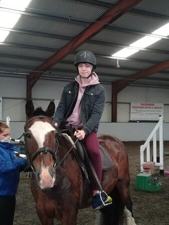 Me in the saddle.