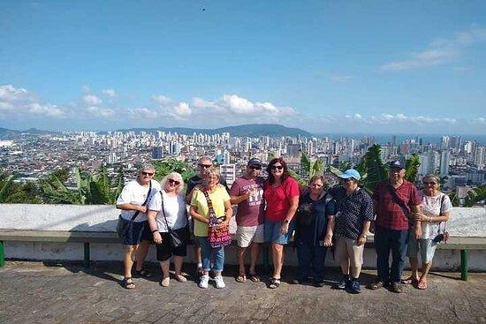 Tour di gruppo condiviso di 7 ore Città di Santos - Mont Serrat