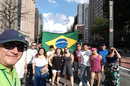 5時間の標準的なサンパウロ市内ツアー(グアルーリョス国際空港への出迎えあり)