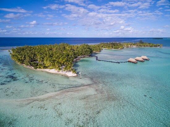 Vahine Island ile privée Resort & Spa
