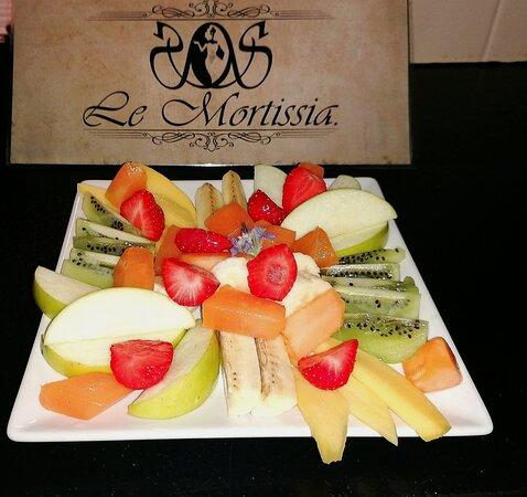 #apéro : Assiette de fruits de saison à partager.