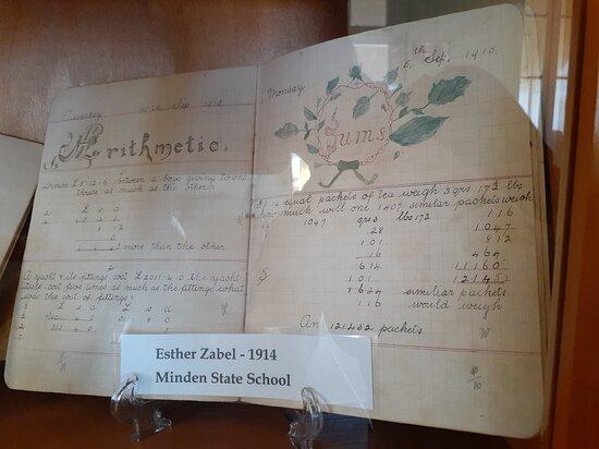 Laidley, Úc: Maths School book 1914