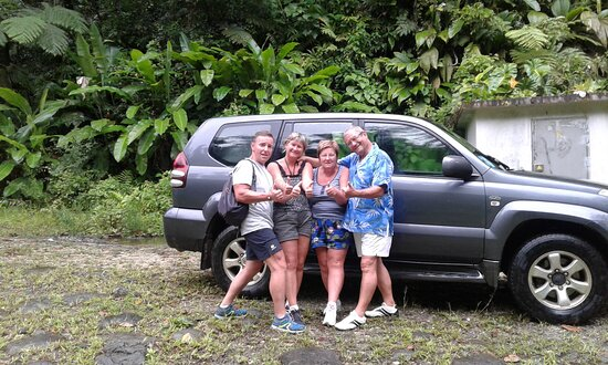 Le Moule, Guadeloupe : Stan and family !!!
