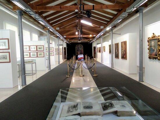 Monfalcone, إيطاليا: Sala espositiva della GCAC di Monfalcone