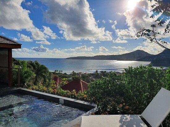 Anse des Cayes, Saint-Barthélemy: Magnifique vue sur Pointe Milou de votre transat 🌿☀️