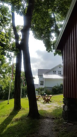 Asgardstrand, Norveška: the surrounding