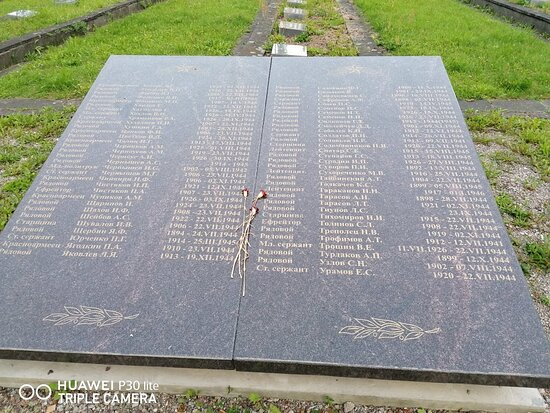 memorial'noye kladbishche VOV