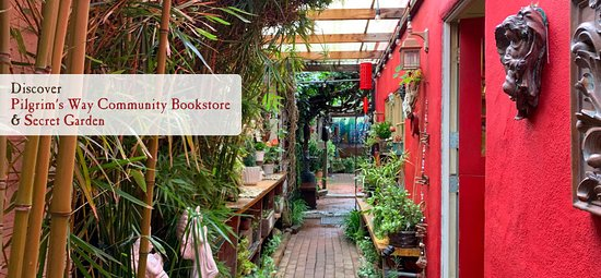 The Pilgrim's Way Community Bookstore and Secret Garden