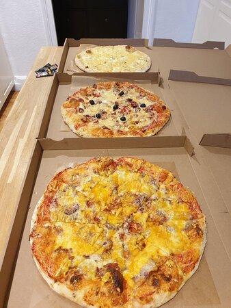 Très bonnes pizzas