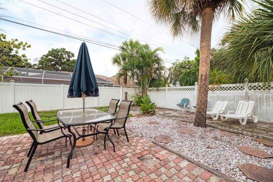 South Venice, Flórida: Back yard