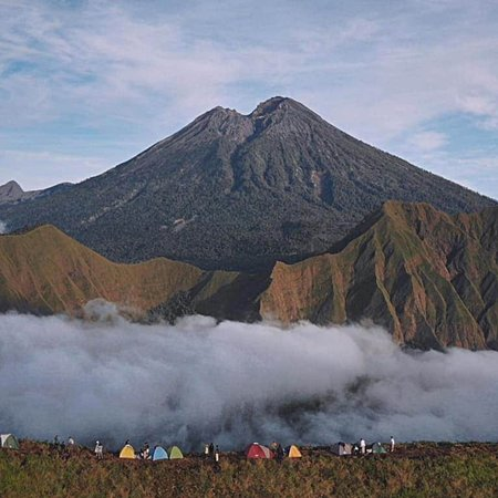 Pal jepang hill sapit. Best place for camping on the hill