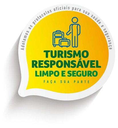 É com grande entusiasmo que o Ministério do Turismo apresenta a você o selo Turismo Responsável. Ele é a primeira etapa, e uma das mais importantes, do plano de retomada do turismo brasileiro que será implementado em todos os destinos do Brasil. Acesse e saiba mais, em: turismo.gov.br/seloresponsavel