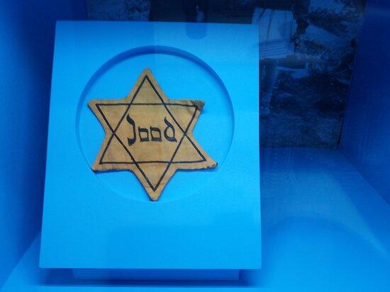 De gehate joden ster.