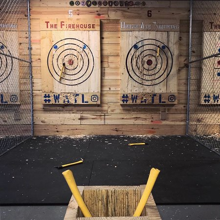 The Firehouse Urban Axe Throwing