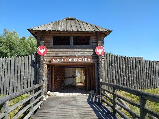 Pobiedziska, Polska: Wejście do grodu