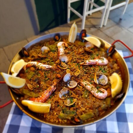 A perfect paella 🥘