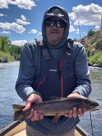 """21"""" Gunnison River Rainbow!"""
