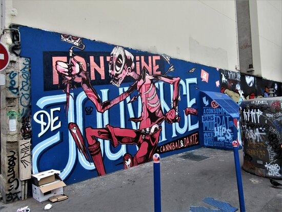 """""""Fresque """"Hommes dans la ville"""""""