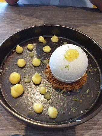Dessert citron meringué