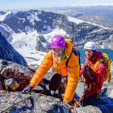 Sandane, Na Uy: Hurrungane - klatrekurs i Jotunheimen.